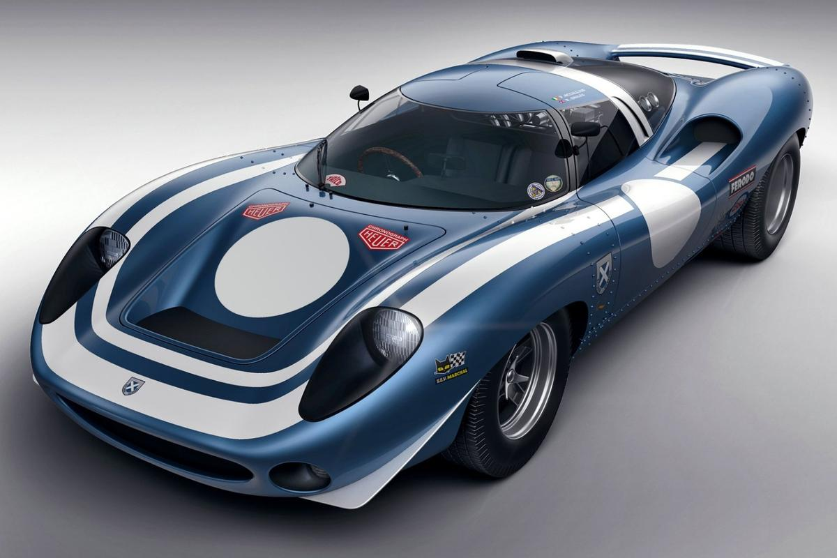 If Ecosse Ecurie had come across the Jaguar XJ13 in 1966, and spent two years developing it into an endurance racer, then this is a replica of the car they might have built