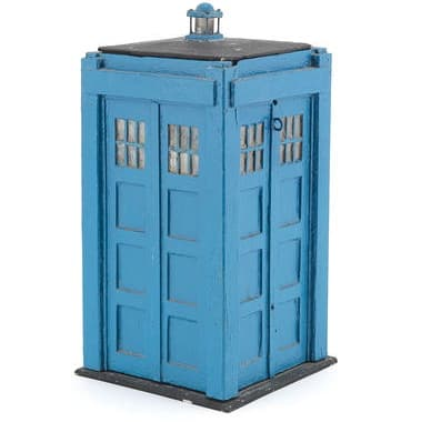 An original Tardis model