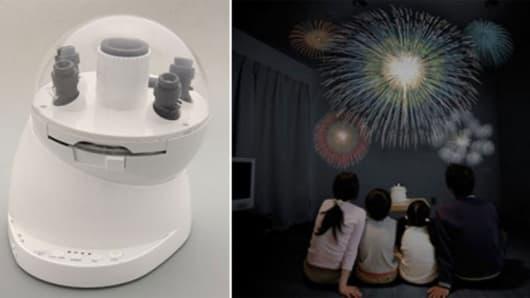 The Uchiage Hanabi Fireworks Projector