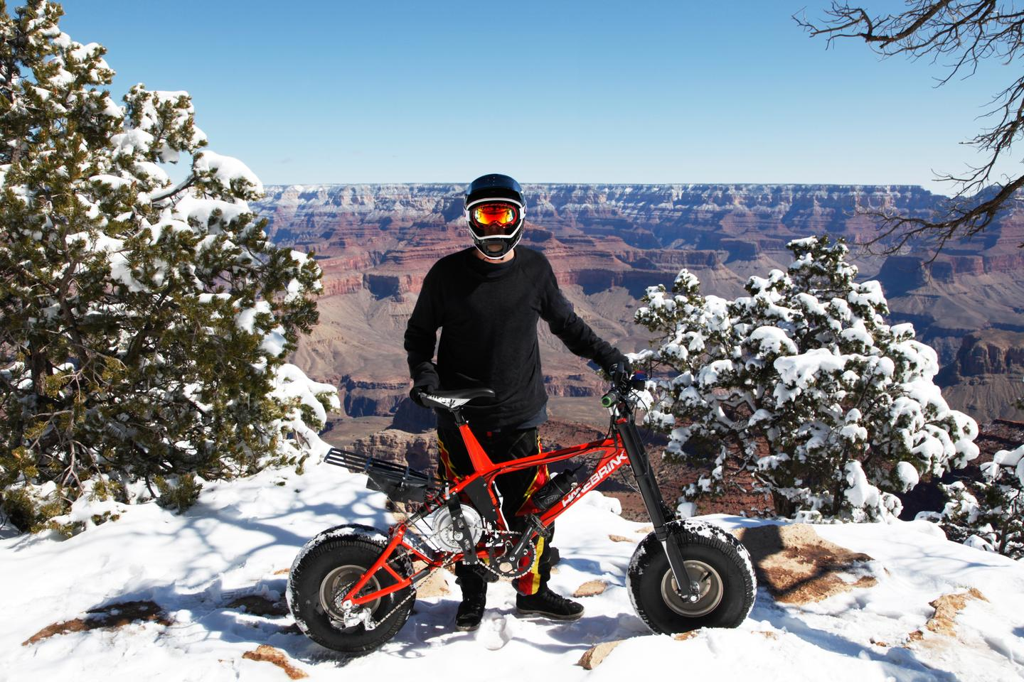 Taking to the hills just got a whole lot more comfortable thanks to the addition of rear suspension on the new Hanebrink III all-terrain electric bike