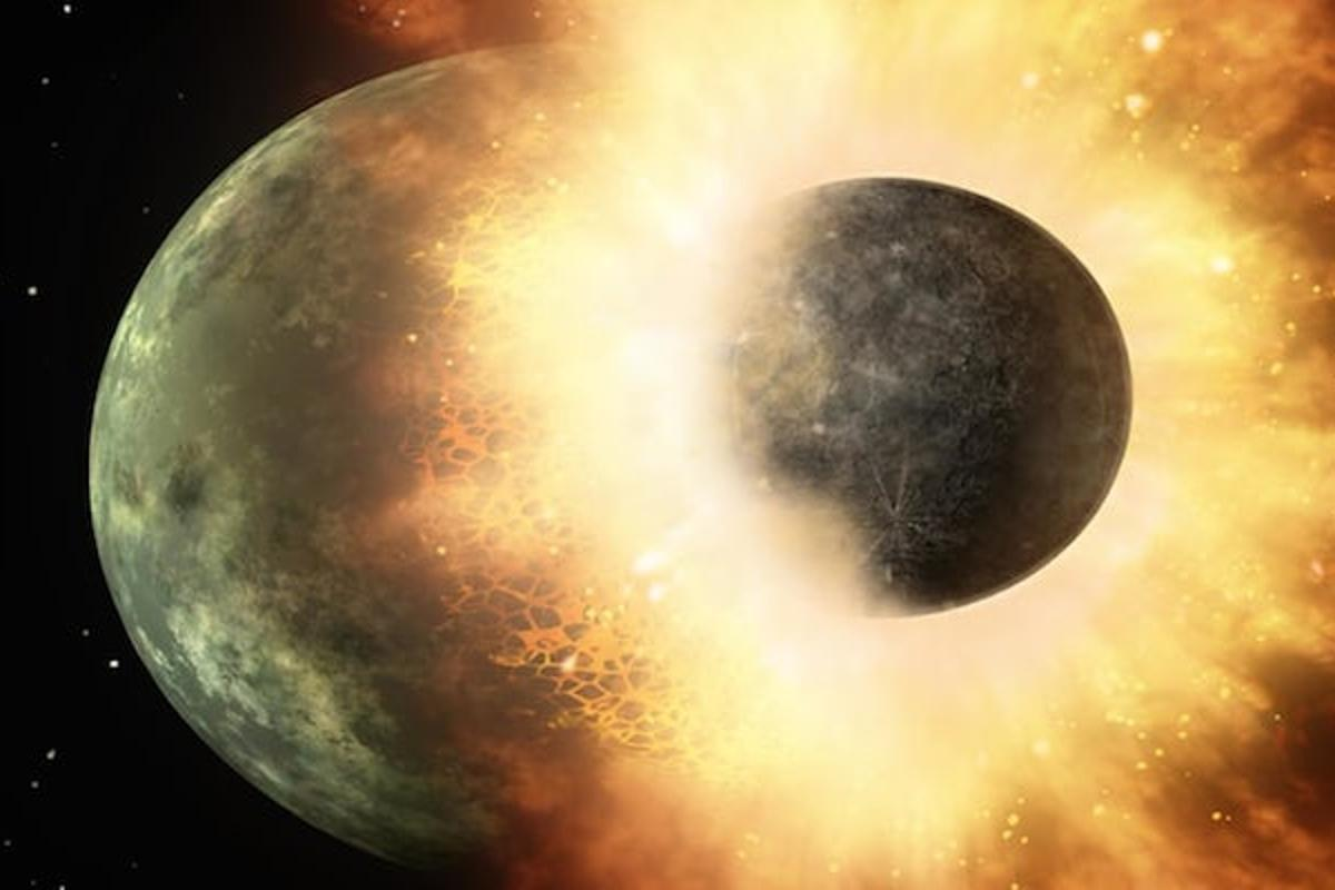 Earth scientists at Rice University have proposed that early Earth'scarbon supply, vital for life, was the result of a collision with an ancient protoplanet
