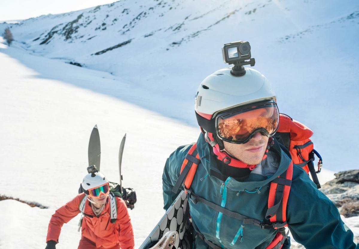 The DJIOsmo Action is dust-, water- and shockproof, and can operate in sub-zero temperatures