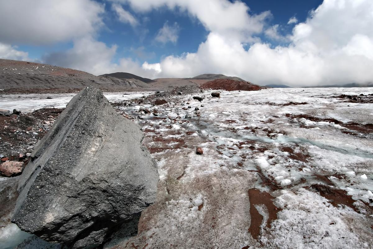Scientists say that the soil in the planet's colder regions holds great stocks of carbon