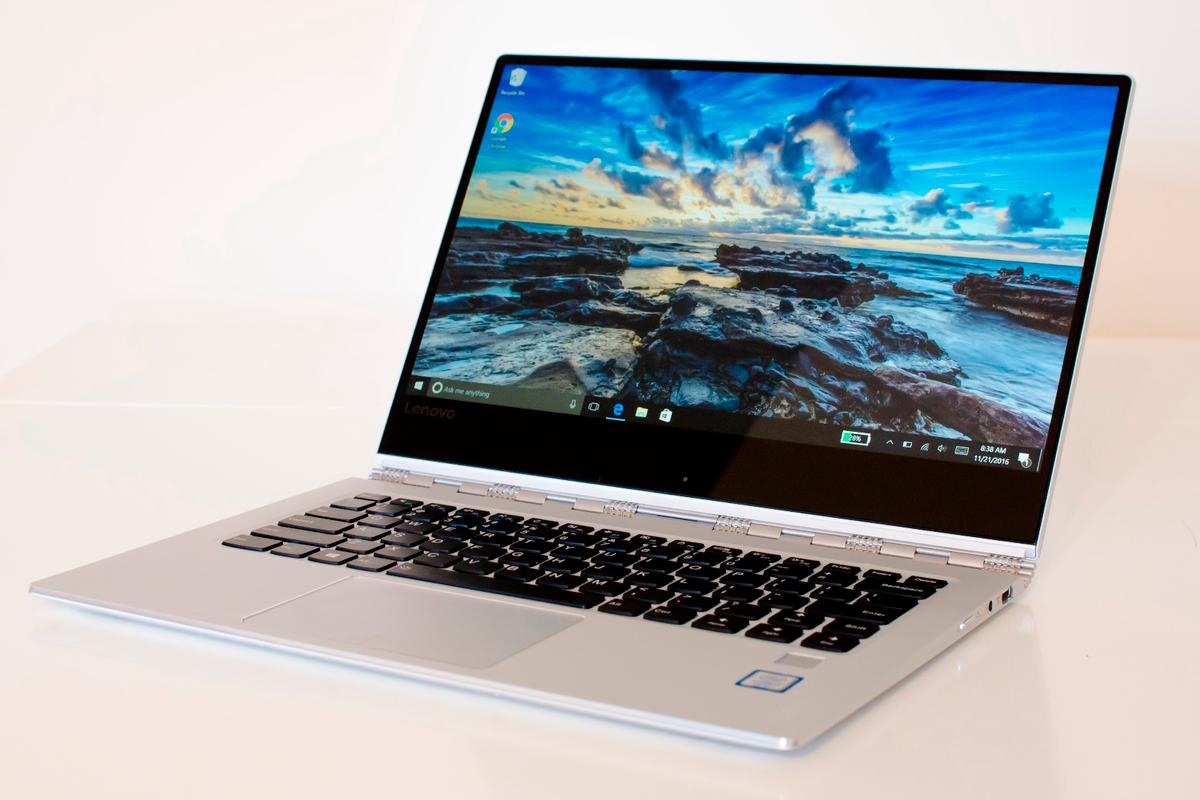The Lenovo Yoga 910 continues the company's 360-degree lineup of 2-in-1s