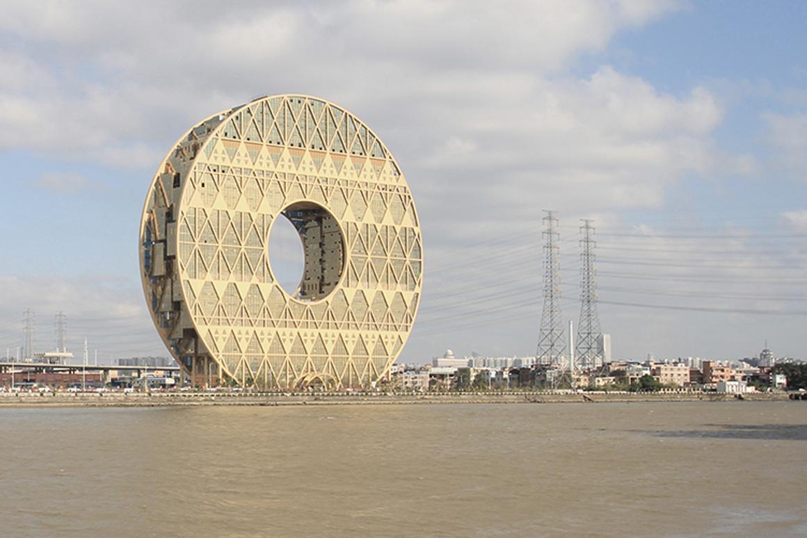 The Guangzhou Circle Mansion (Photo: Joseph di Pasquale architect)
