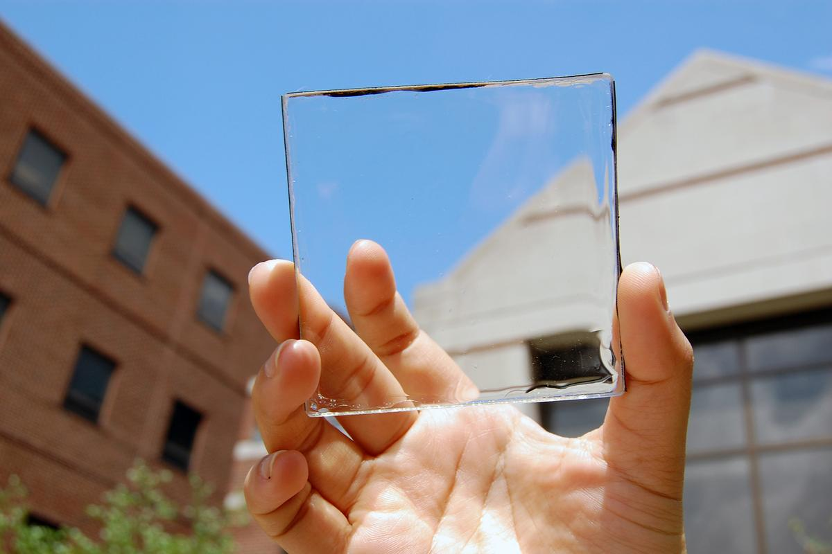 Researchers at Michigan State University claim to have a solar collector so clear that it could replace conventional glass in windows