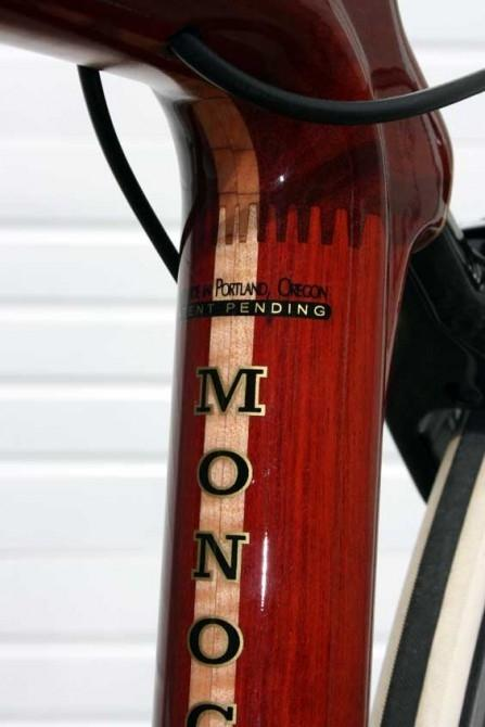 Bloodwood and Curly Maple are two of the hardwoods used in Renovo bicycles
