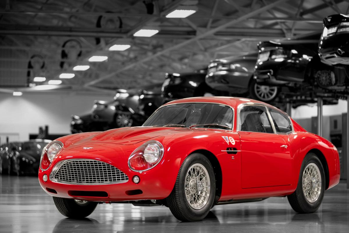 Each Aston Martin DB4 GT Zagato Continuation is constructed to the highest quality using a blend of Sir David Brown-era old-world craftsmanship and the sympathetic application of modern engineering and performance enhancements. The new car is expected to comfortably top 160 mph.