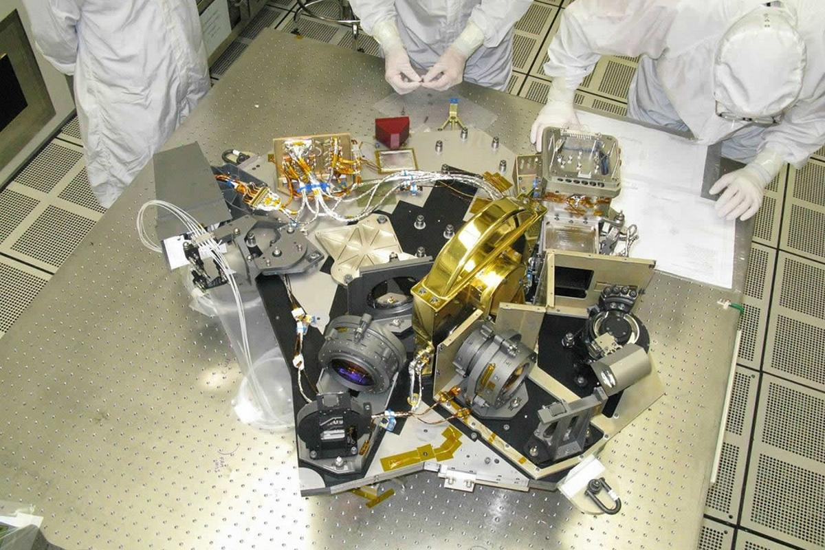The NIRCam that has passed its testing at Lockheed Martin and is being readied for shipment to Goddard (Photo: Lockheed Martin)