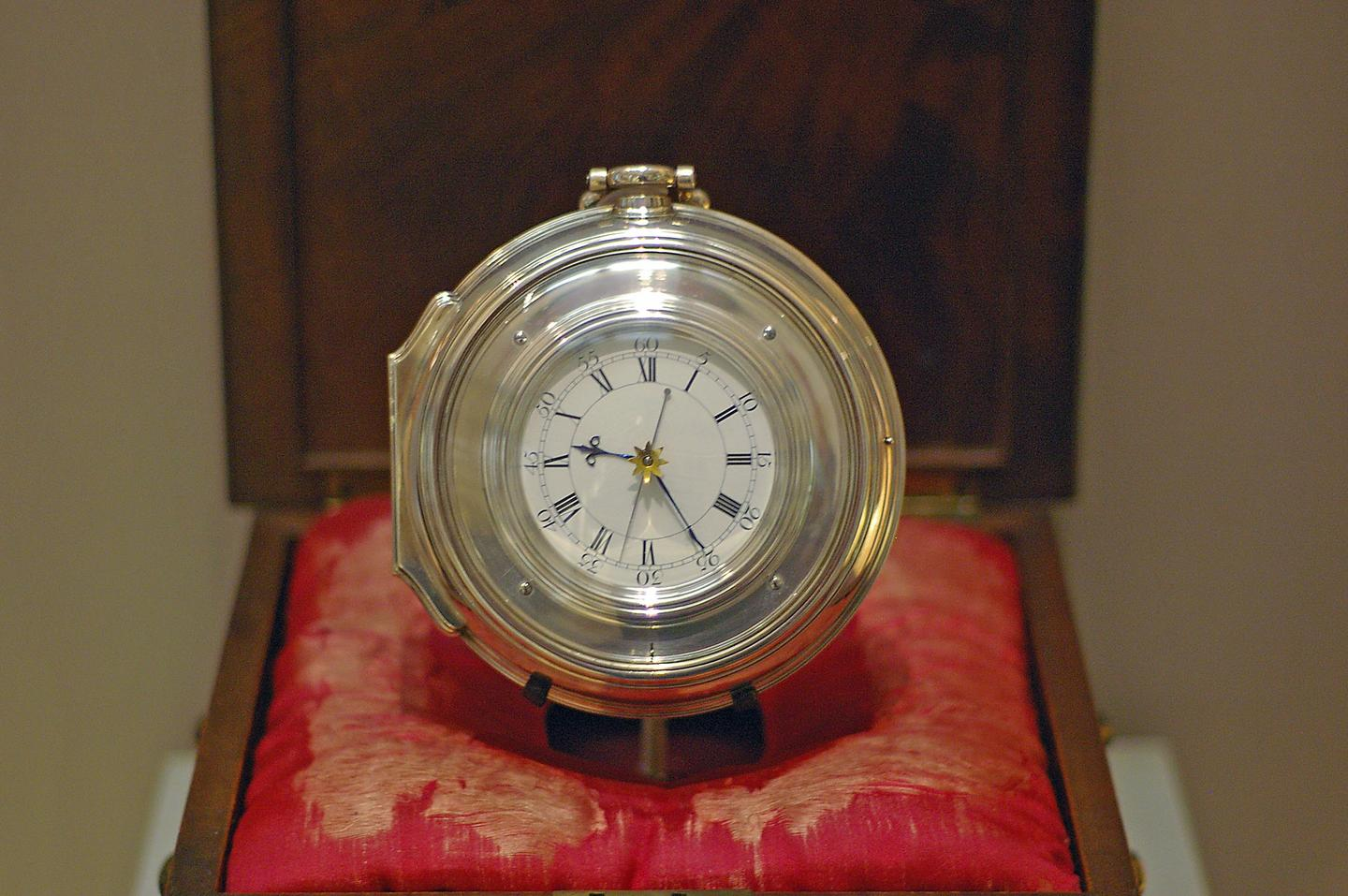 The Harrison's chronograph H5 (Image: Racklever/Wikipedia)