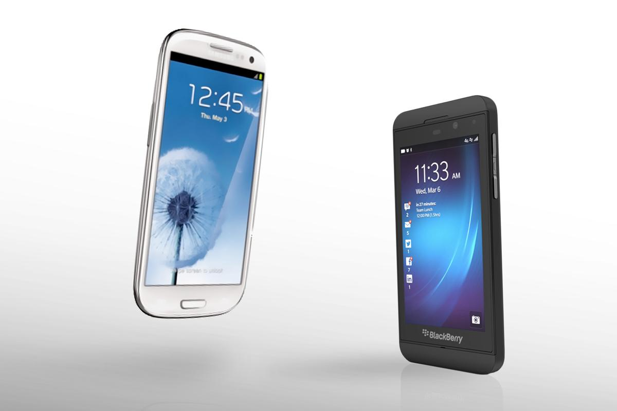We compare the specs (and intangibles) of the BlackBerry Z10 and Samsung Galaxy S3