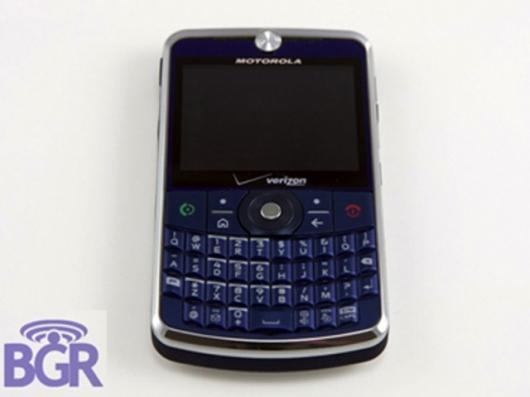 """The Motorolas """"Napolean"""" Q9 phone"""