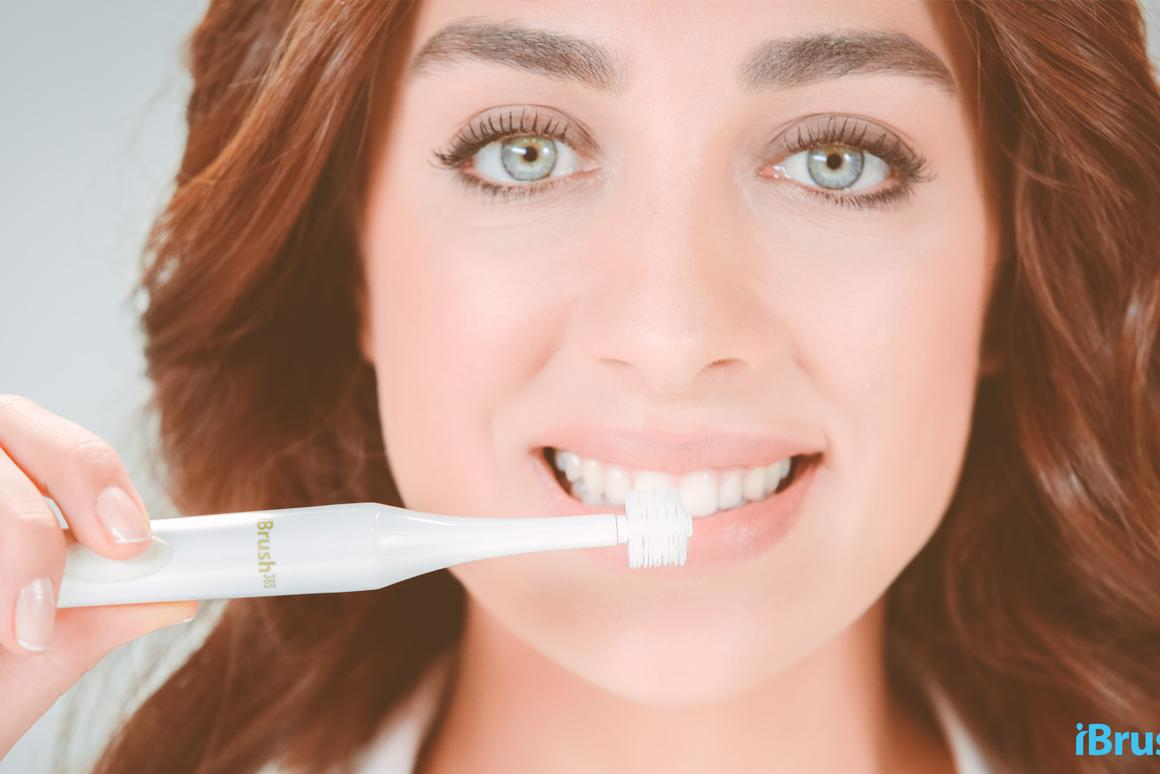 iBrands claims that the iBrush 365 is able to reduce gums receding and bleeding, improving gum health within two weeks