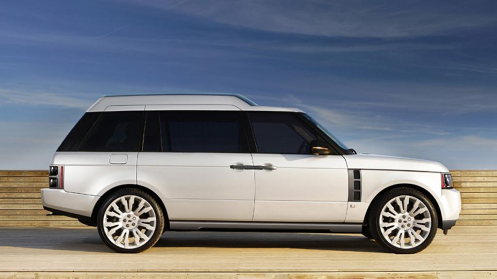 The Q-VR is based on the 2010 Range Rover