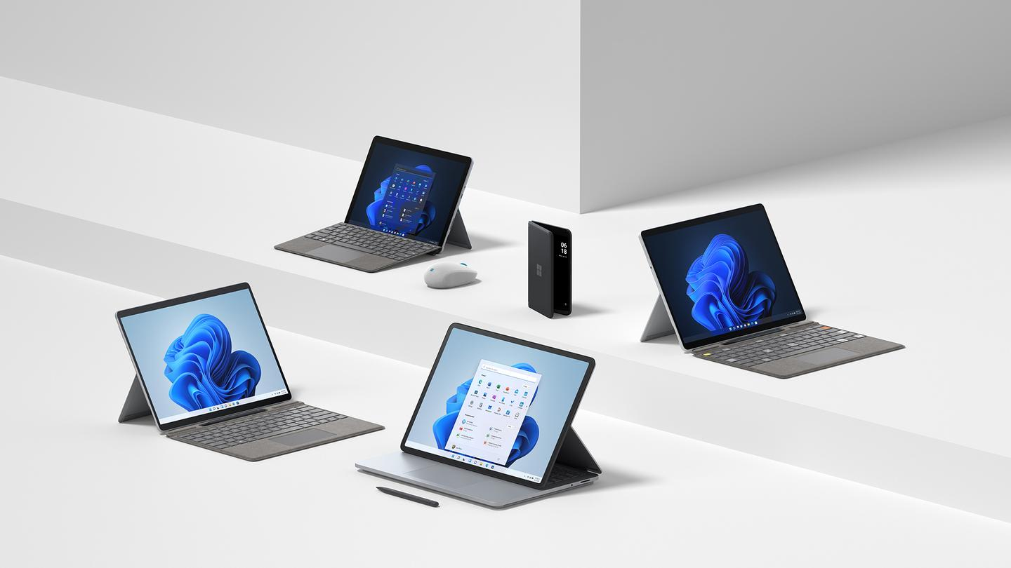 With Windows 11 due for release shortly, Microsoft has refreshed and updated its Surface family of portables
