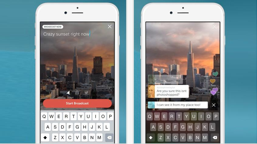 Launched today, the Periscope app for iPhone lets users live stream video to their followers