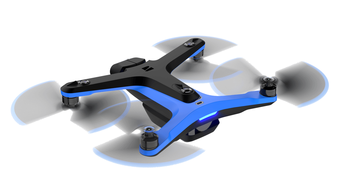 Six cameras give the Skydio 2 omnidirectional vision, and an nVidia deep learning processor lets it map its environment