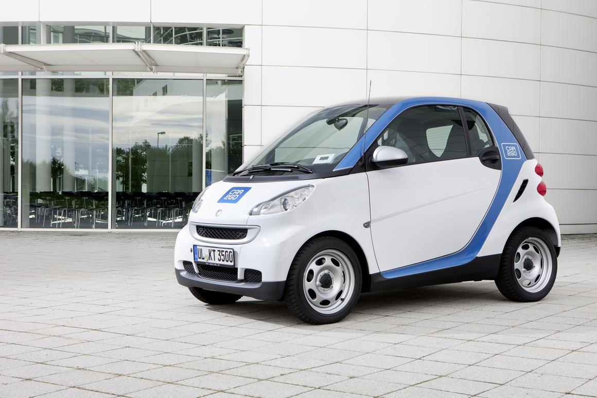 Daimler's car2go edition smart fortwo