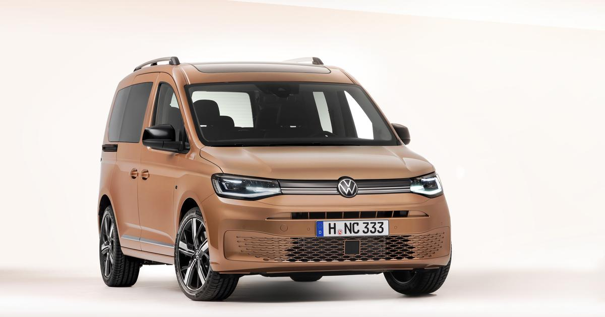 Next-gen VW Caddy to delight small van and mini-campervan lovers