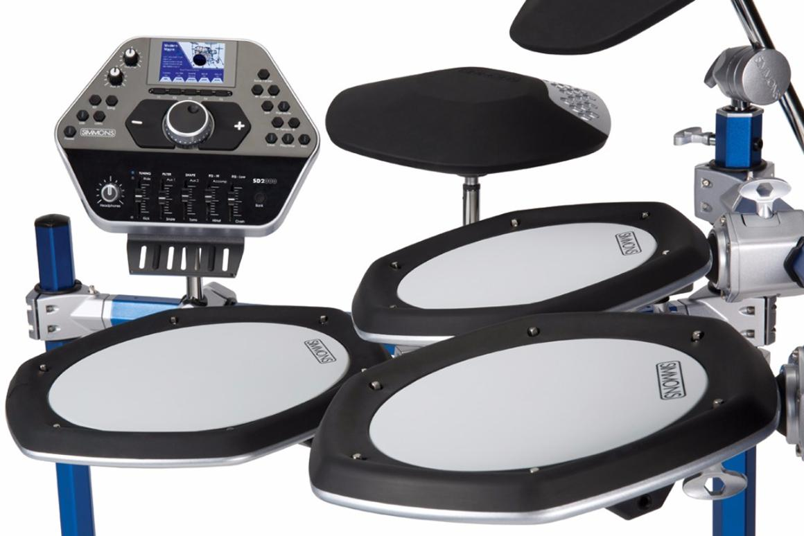The SD2000 Mesh-Head Electronic Drum Kit from Simmons