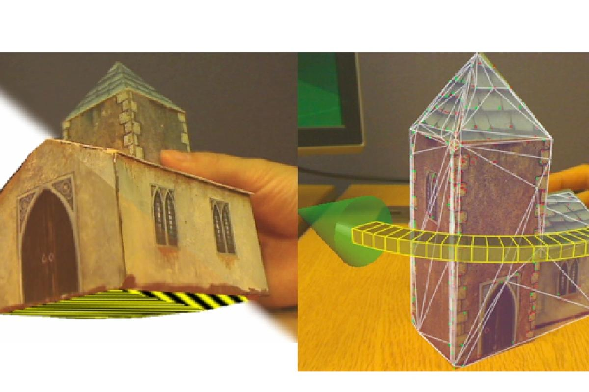 Using ProFORMA 3D modeling software, users can create models by rotating an object in front of a webcam
