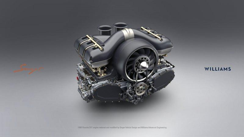 TheWilliams and Singer 4.0-liter flat six