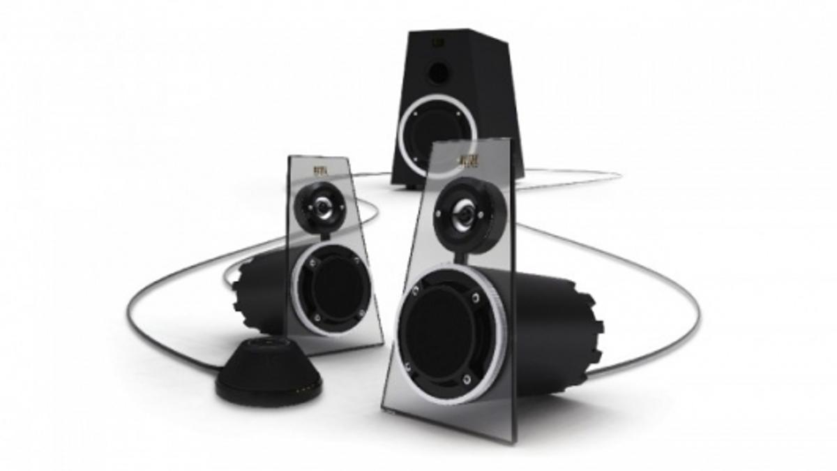 The Altec Lansing Expressionist Ultra MX6021 - 200W RMS on your desktop