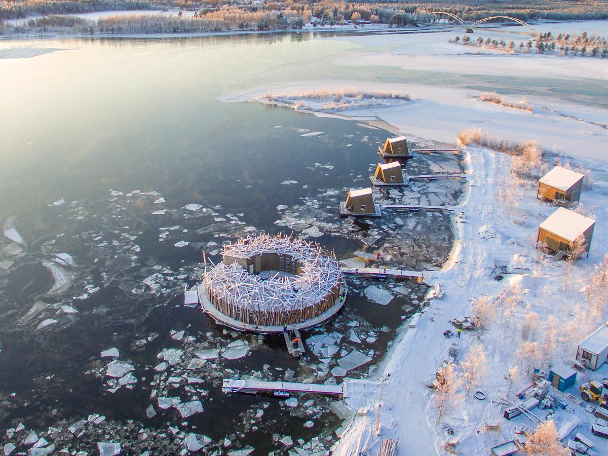 If you'd like to book a stay at the Arctic Bath, pricing starts from SEK 9,600 per night (roughly US$1,000)