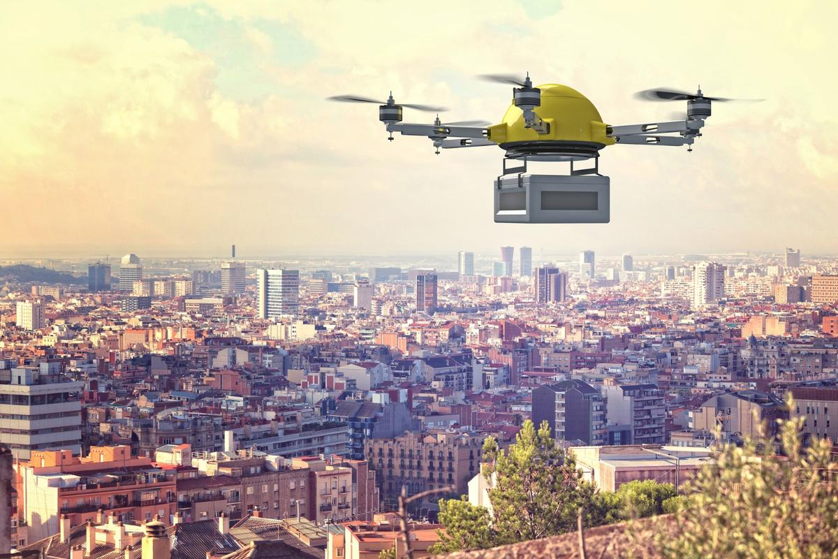 Echodyne has come up with a massively simplified, miniaturized aerial radar system that could help make drone-delivered pizza a thing