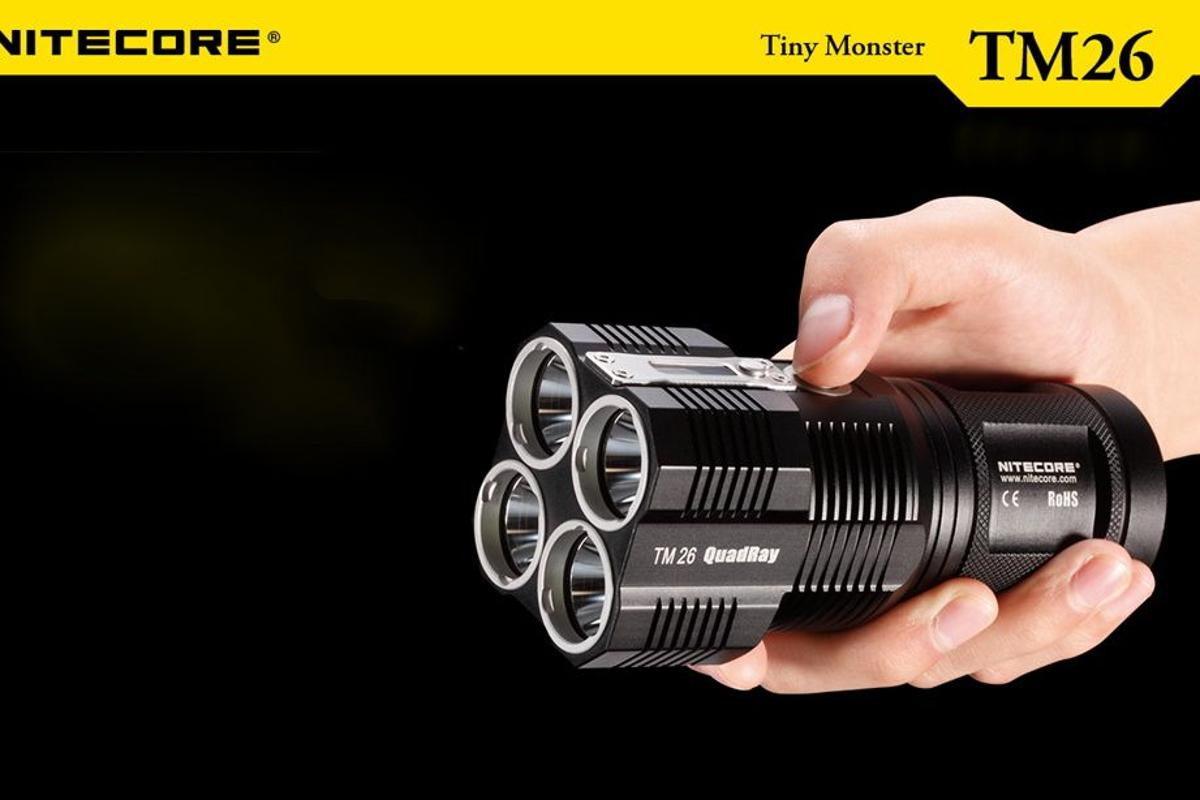Nitecore's Tiny Monster TM26