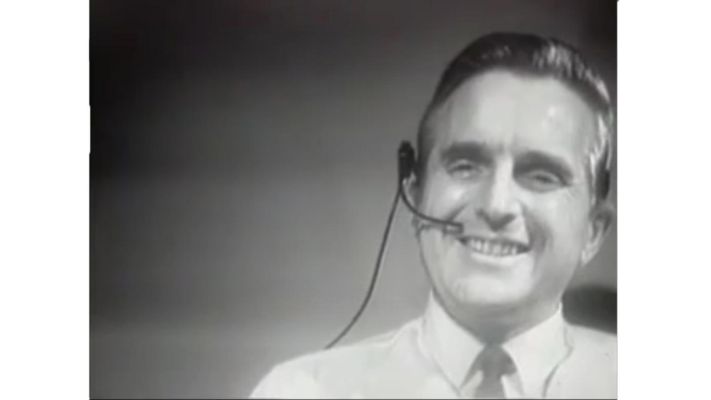 Douglass Engelbart gives his revolutionary presentation in 1968 that saw the first public demonstration of the mouse