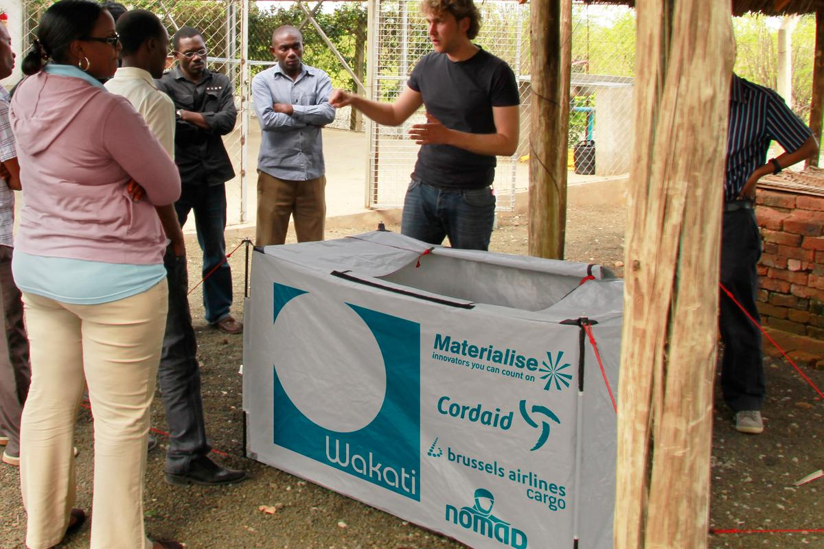 The Wakati increases the length of time that fruit and veg can be stored without refrigeration