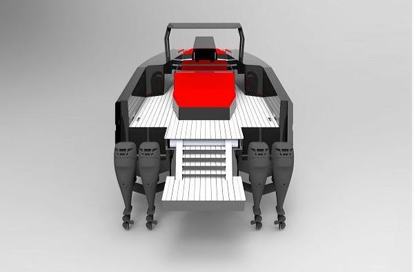 Sunreef's hydrofoil catamaran concept