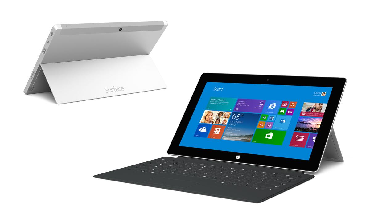 The Surface 2 now comes in silver, but it still runs the limited Windows RT