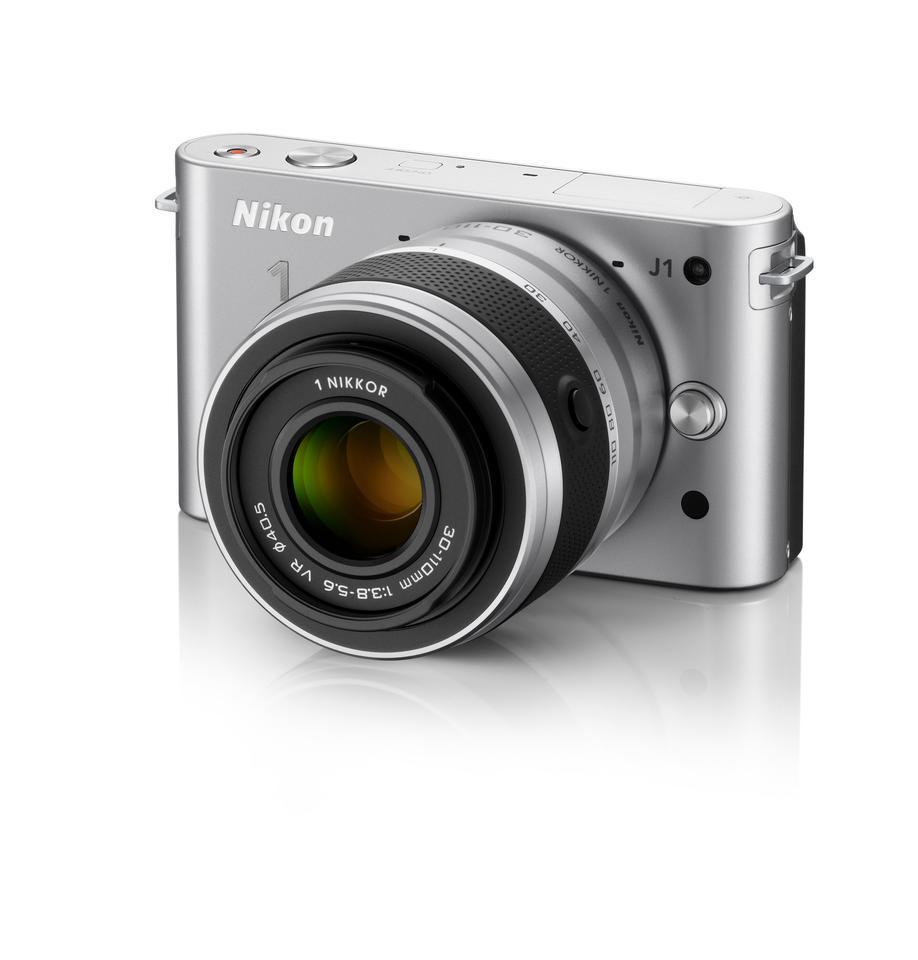 Nikon's new J1 mirrorless, interchangeable lens compact camera