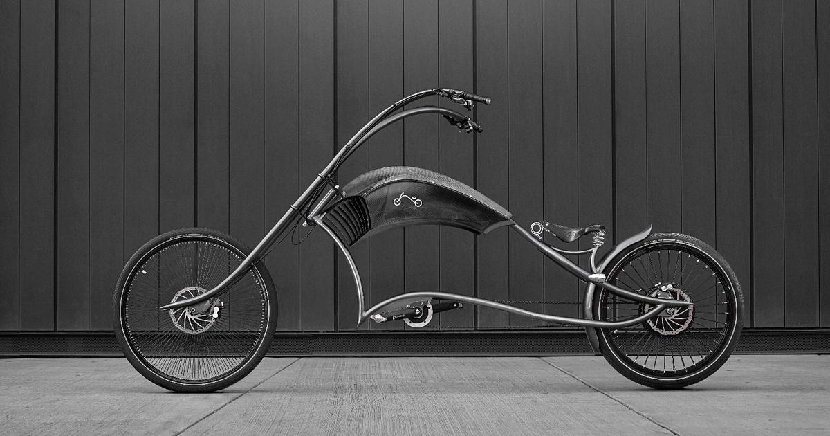 Archont electro gives e-bikes the custom-chopper treatment