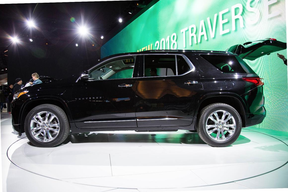 Chevy reveals the 2018 Traverse at NAIAS 2017