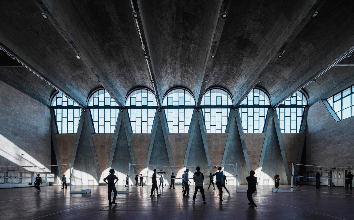 Winner Terrence Zhang took this runner-up photograph of the gymnasium in the New Campus of Tianjin University, China
