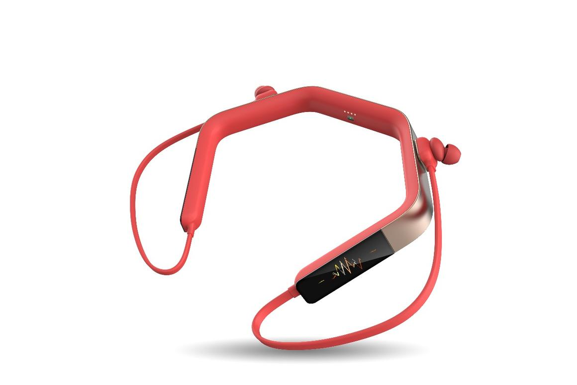 The Vinci 2.0 headphones area fitness tracker, Bluetooth headphones, voice assistant, and music player, all in one, without the need for a paired smartphone