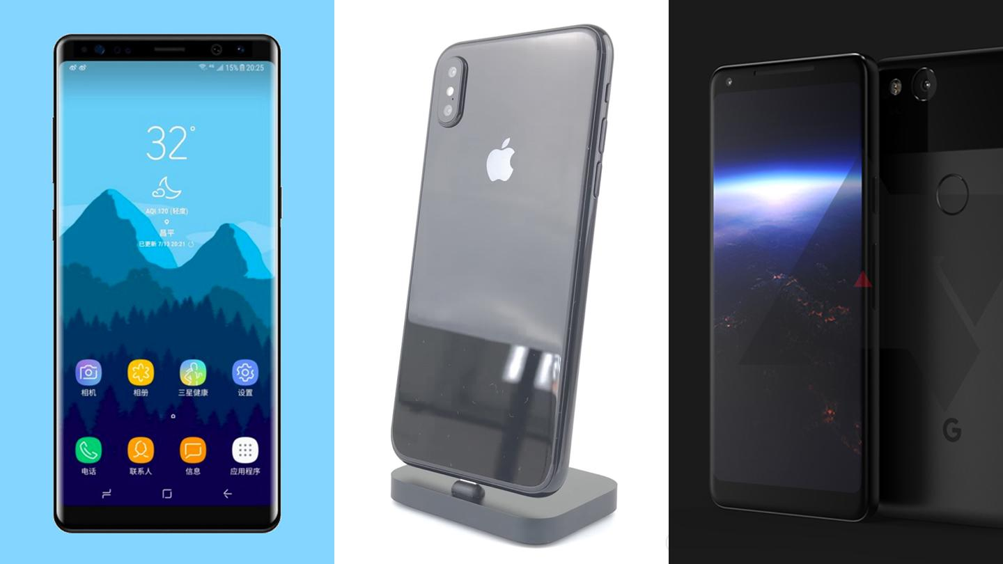 Some big-name flagships are on the way
