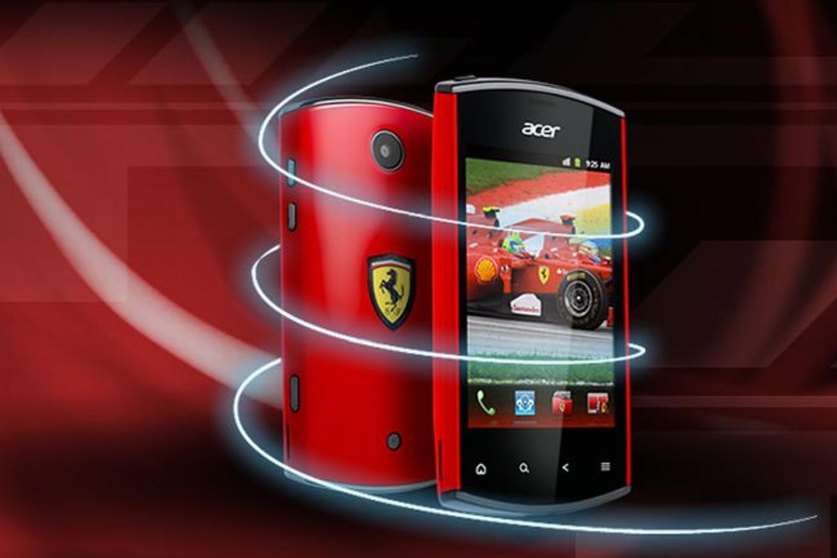 Acer has announced its next Ferrari-branded product, in the form of the liquidmini Ferrari Edition smartphone