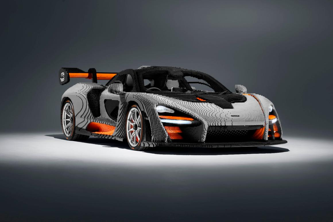 The Lego McLaren Senna