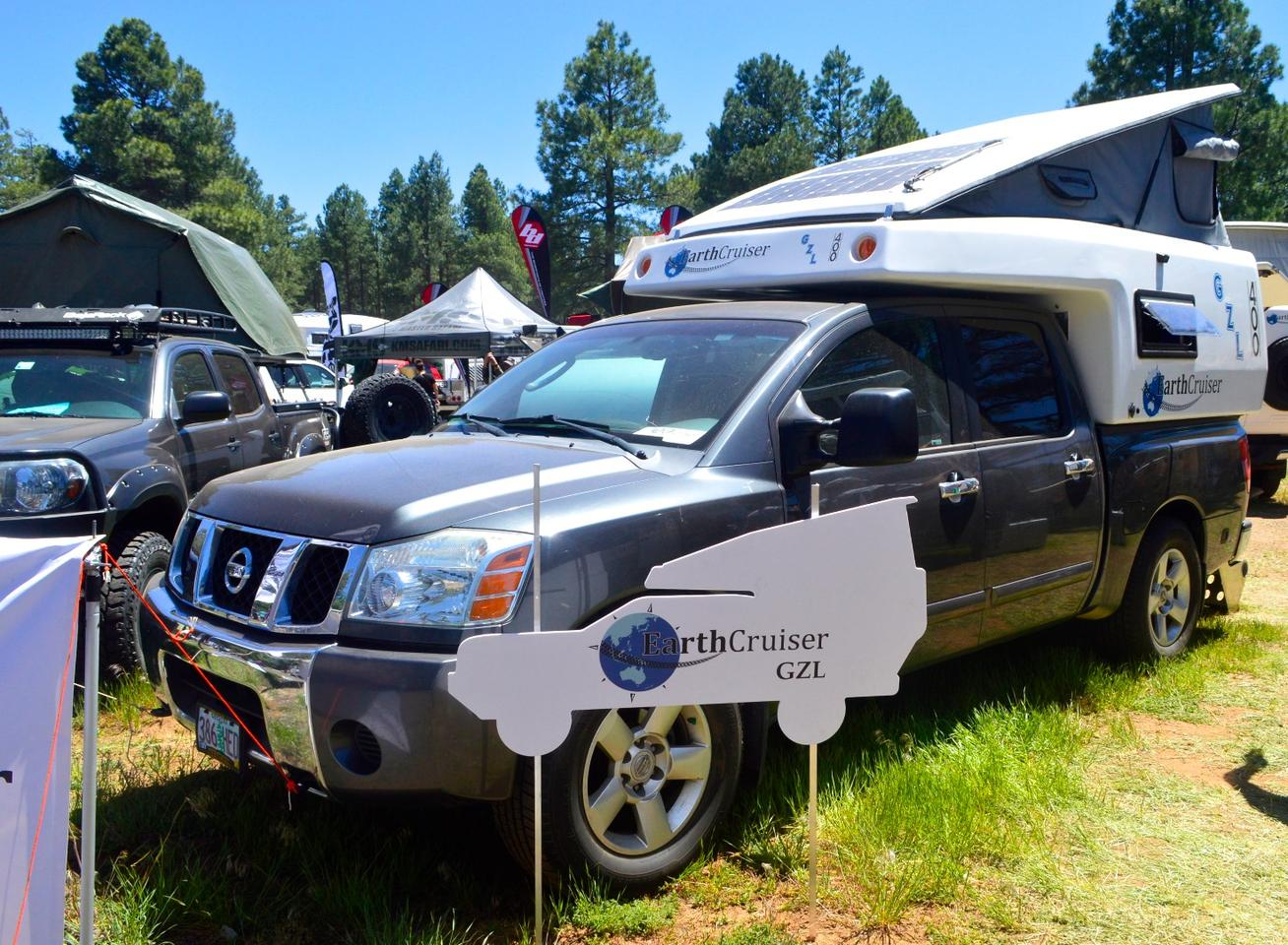 EarthCruiser shows its new GZL 400 at Overland Expo West 2017
