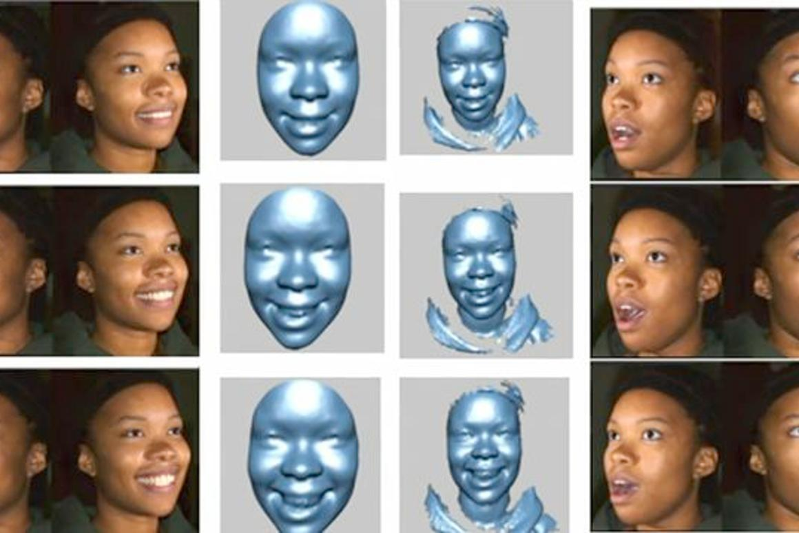 Researchers are working on software that will allow computers to recognize the emotions of their users (Image: Binghamton University)