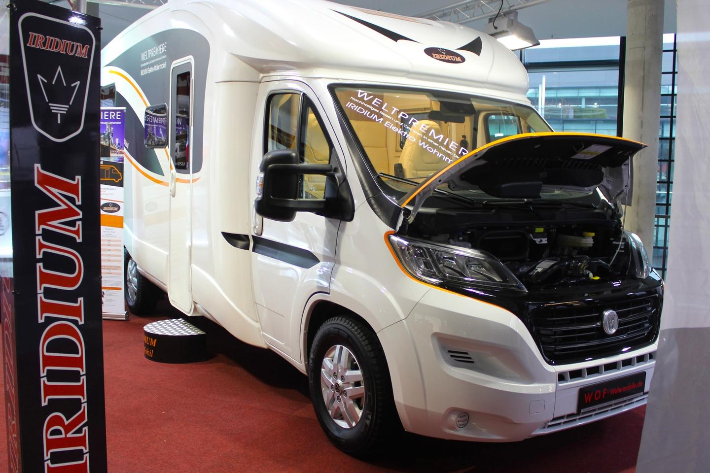 Iridium is a new electric motorhome fromGermany's WOF (Wohnmobile Outlet Factory)