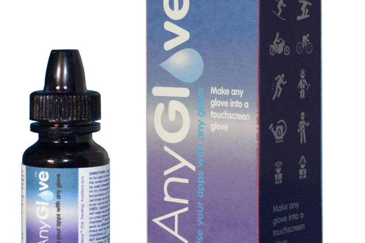 AnyGlove is a liquid polymer that is claimed to make any glove conductive, when applied to its fingertips