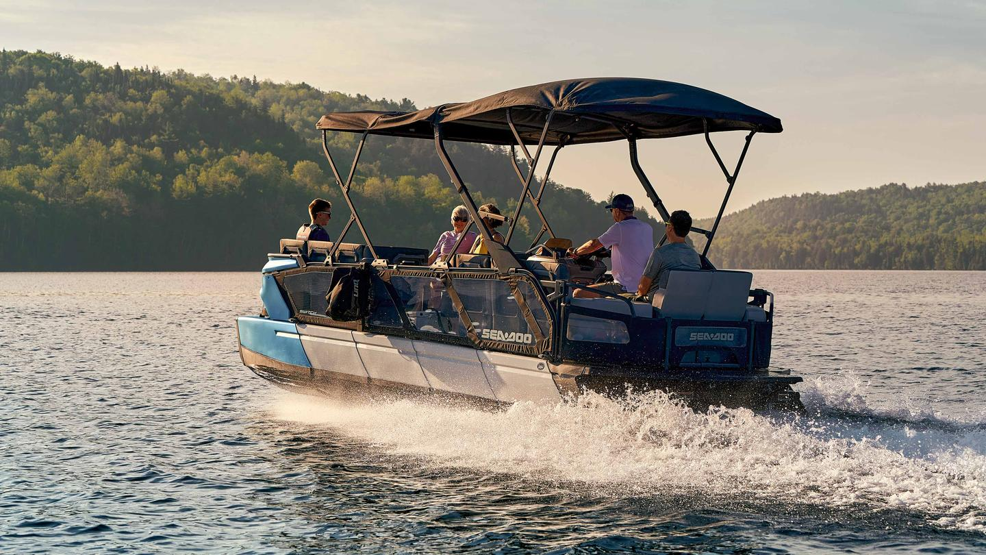 Sea-Doo offers several configurations and the full-blown deck modularity so that the Switch can serve all kinds of uses