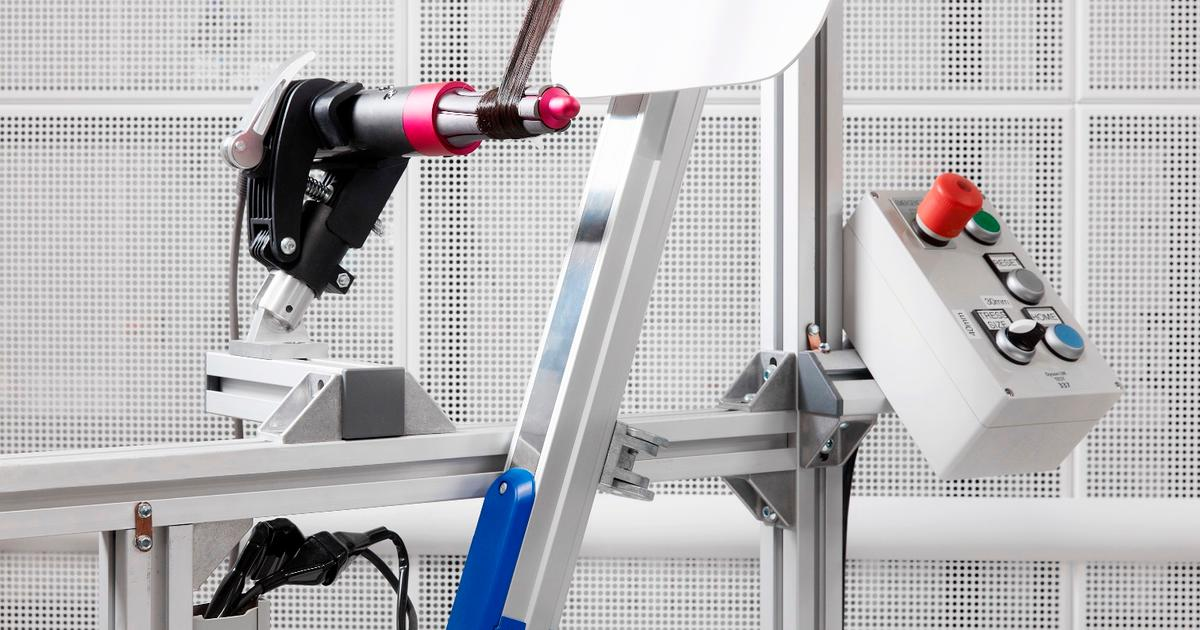 Dyson dials up its beauty offerings with a high-powered hair styler