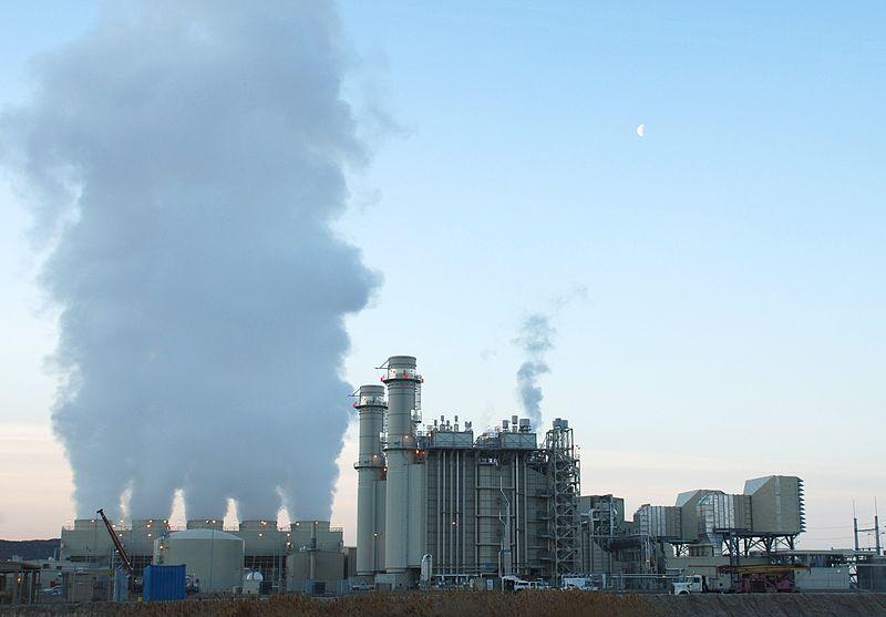 The Lake Side Power Station natural gas power plant in Utah, USA (Photo: Mscalora)
