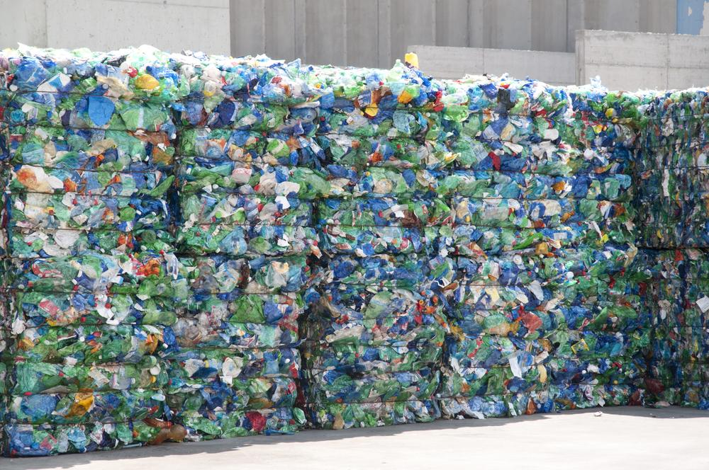 Discarded plastic items await recycling (Photo: Shutterstock)